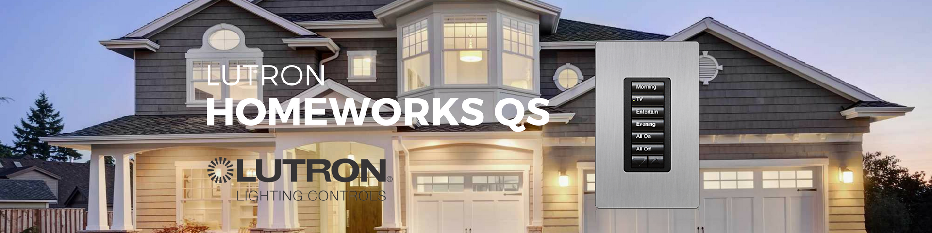 Lutron HomeWorks QS System Overview